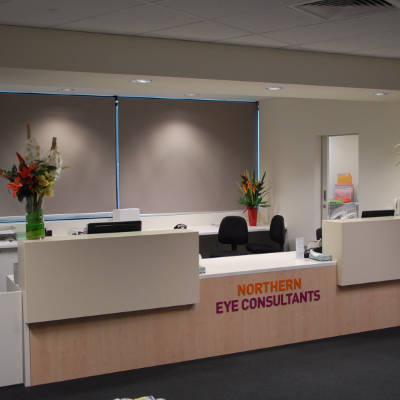 Northern Eye Consultants Reception